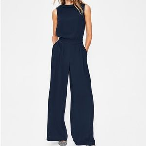 NWT navy Boden jumpsuit